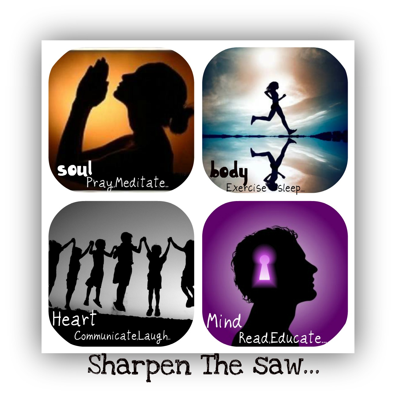 Sharpen The Saw Habit 7 Sharpen The Saw On Pinterest 7 Habits ...